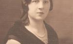 Zdjęcie z lat 30-tych. Apolonia Śpiewankiewicz (1904-1987), z męża Sobczyk. Fotografia z kolekcji Z. Gzik.