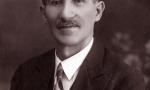 Ludwik Dawid (1869-1943) syn Piotra Dawida i Teofili z Kowalskich. Zdjęcie z ok. 1923 r. Fotografia z kolekcji J. Kaszyńskiego.