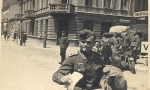 Radomsko w czasie okupacji hitlerowskiej. Fotografia z kolekcji Z. Cieślaka.
