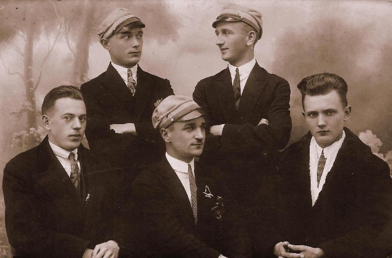Fotografia z 1927r.