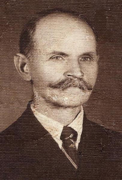 Jan Marczyk (1878-1944). Zdjęcie z ok. 1930 r. Fotografia z kolekcji H. Nowakowskiej.