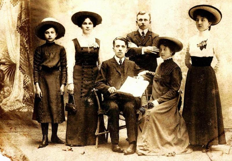 Fotografia z 1909r.