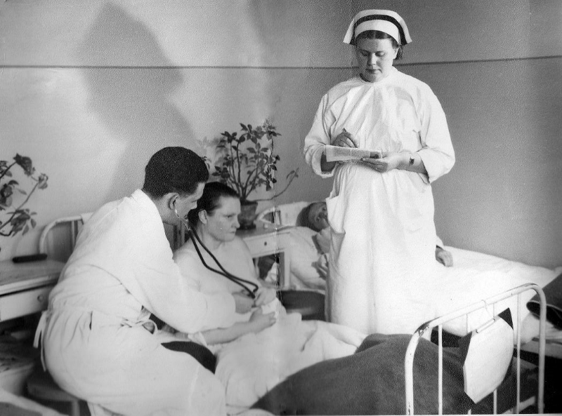 Szpital w Radomsku, lata 50-te XX w.