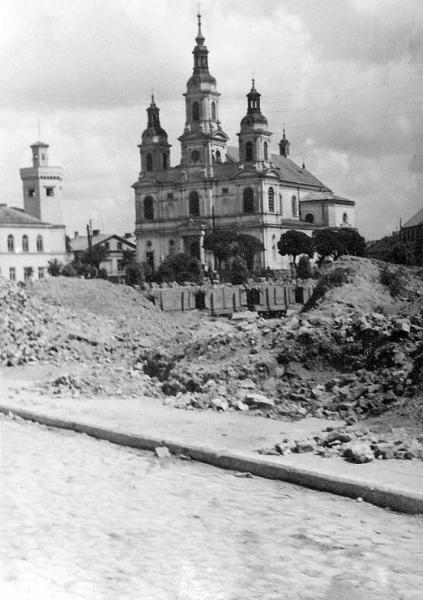 Radomsko, 15 VII 1940 r. Fotografia z kolekcji J. Kaszyńskiego.