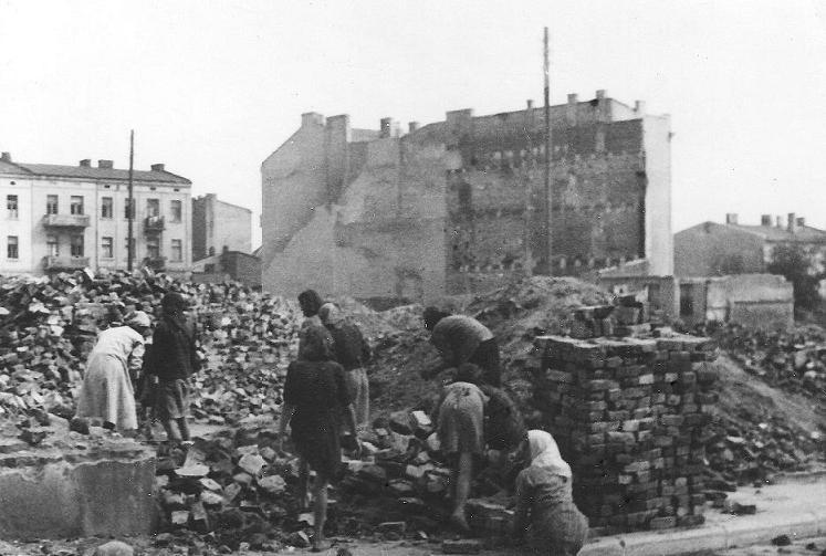 Radomsko, 25 IX 1939 r. Fotografia z kolekcji J. Kaszyńskiego