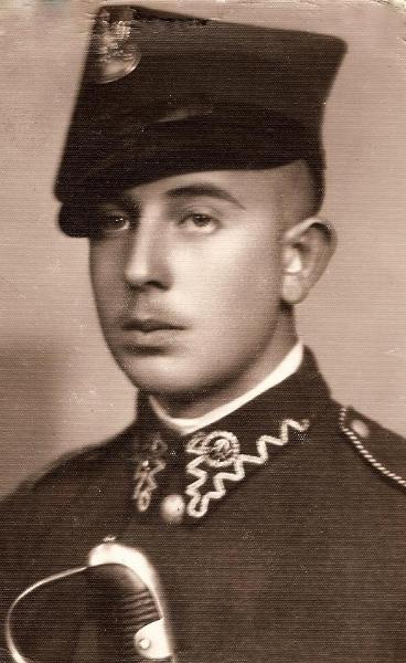 Brat Stanisława Sankowskiego. Zdjęcie z ok. 1937 r. Fotografia z kolekcji S. Sankowskiego.