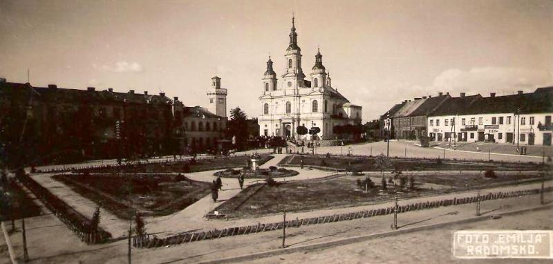 Centrum Radomska – 1934r.