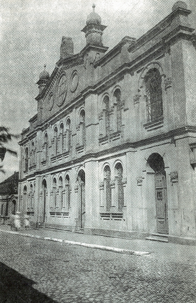 Synagoga przy ul. Joselewicza w Radomsku, okres międzywojenny.