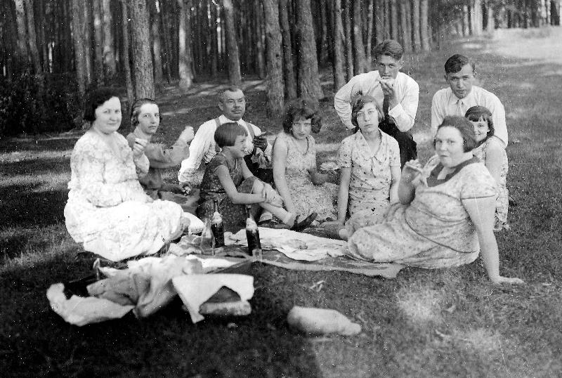 Zdjęcie z ok. 1935 r.  Fotografia z kolekcji A. Żarneckiej<br/>