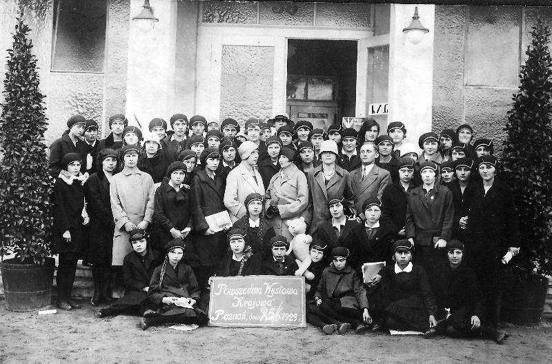 Zdjęcie z 1929 r. z kolekcji A. Żarneckiej<br/>
