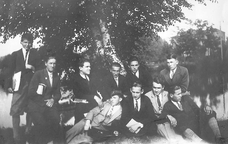 Radomsko, 1932 r. Fotografia z kolekcji A. Żarneckiej<br/>