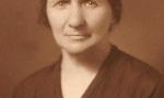 Zdjęcie z lat 30-tych.  Marianna Śpiewankiewicz (1879-1970). Fotografia z kolekcji Z. Gzik.