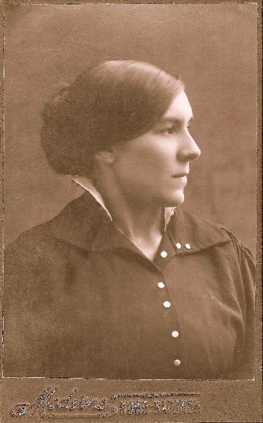 Zdjęcie wykonane w Noworadomsku - przed 1918r.