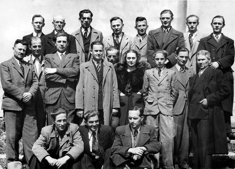 Zdjęcie z  ok. 1945r
