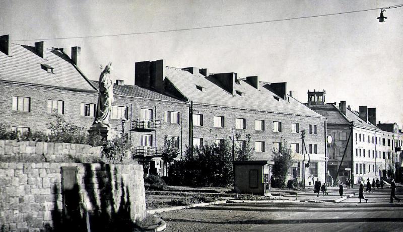Centrum Radomska, lata 50-te XX w.