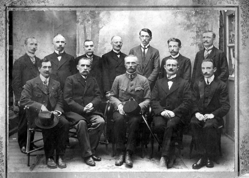 Fotografia z 1914r.