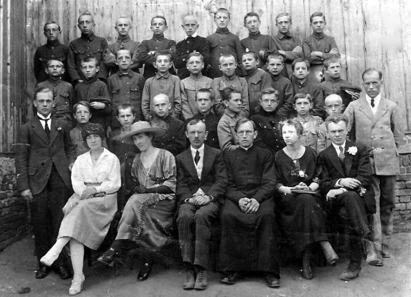 Fotografia z 1918r.