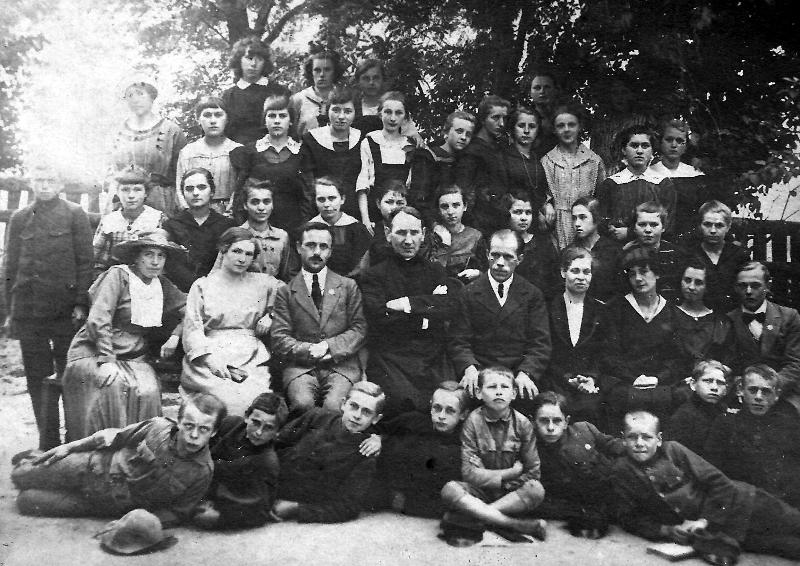 Fotografia z 1921r.