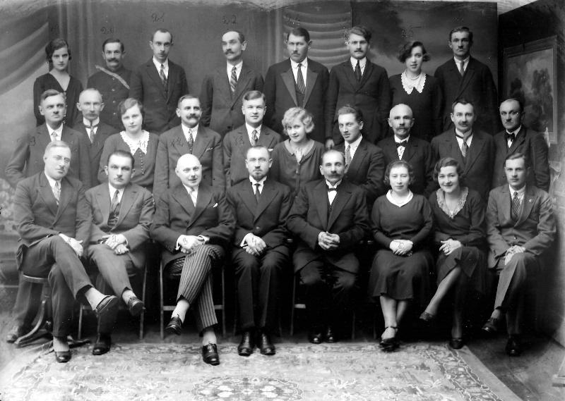 Fotografia z 1928r.