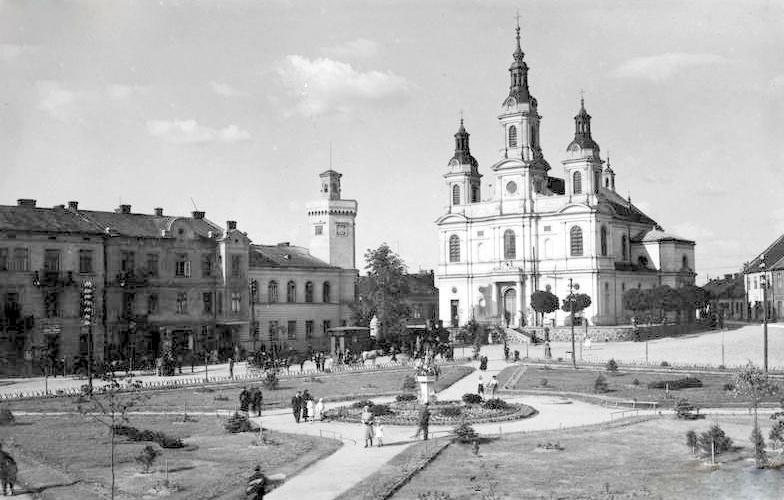 Radomsko, lata 30, 40 XX w.