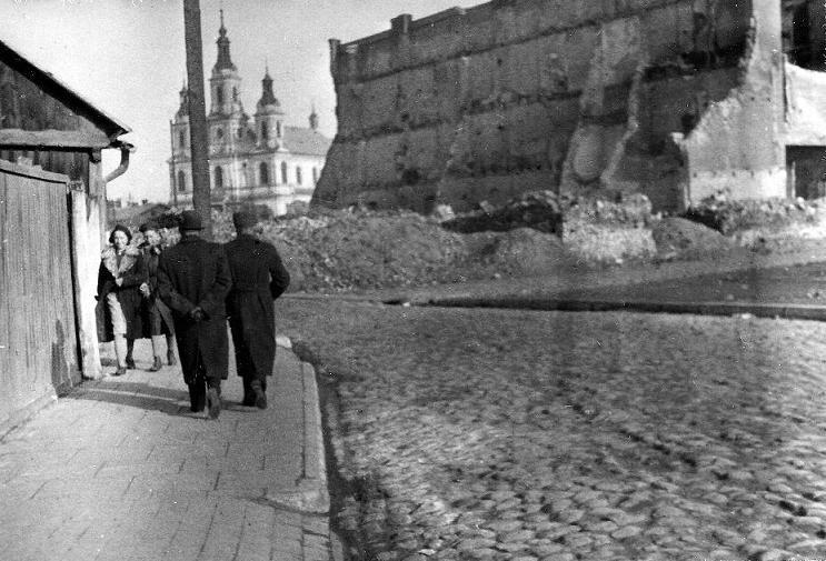 Radomsko, 13 X 1940 r. Fotografia z kolekcji J. Kaszyńskiego.