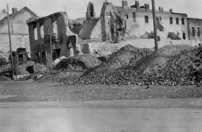 Radomsko, 15 IX 1939 r. Fotografia z kolekcji J. Kaszyńskiego.