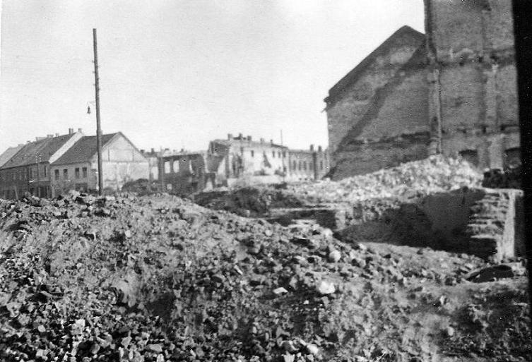 Radomsko, 22 IX 1939 r. Fotografia z kolekcji J. Kaszyńskiego.