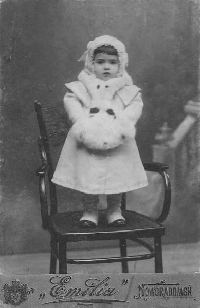 Barbara Herszkiewicz (1911-1956), pianistka, malarka, pierwsza żona Henryka Fajta. Fotografia z kolekcji S. Sankowskiego.