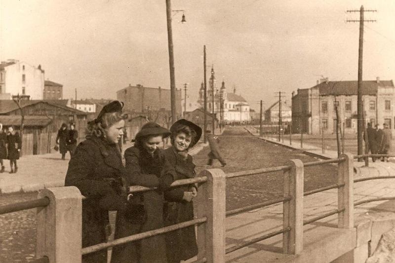 Zdjęcie z czasów okupacji hitlerowskiej (1940 r.)