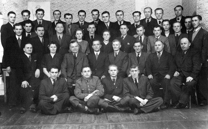 Cech krawców.  Zdjęcie z ok. 1953 r.