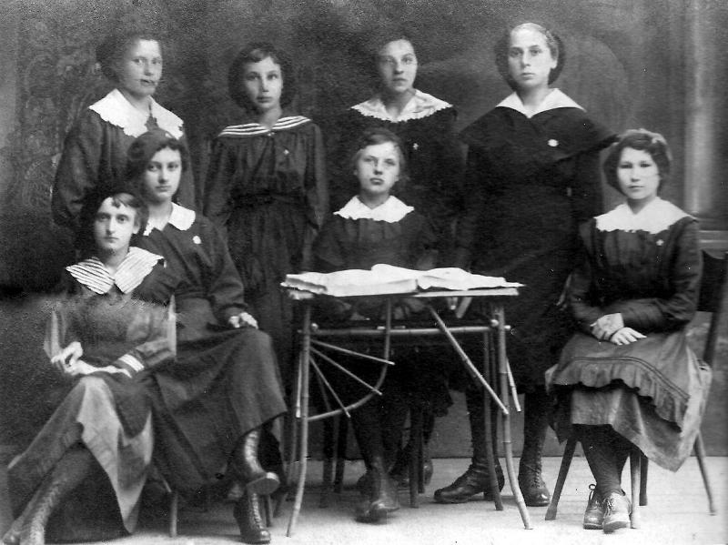 Zdjęcie z 1919r.