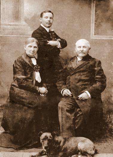Zdjęcie z ok.1918r.