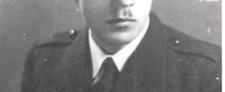 """1985/277 Zdzisław Rudowski, instruktor ZHP w Radomsku, redaktor """"Gazety Radomskowskiej, pracownik Metalurgii, 1937 r.,"""